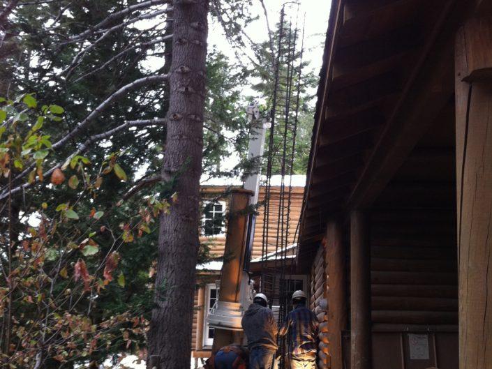 Limited Access Caissions Big Bear, CA