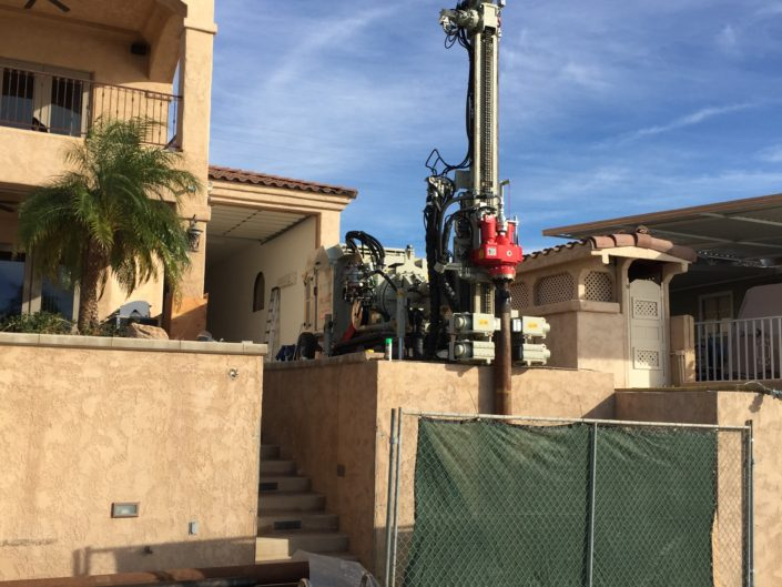 Limited Access Micropiles- CO River, AZ
