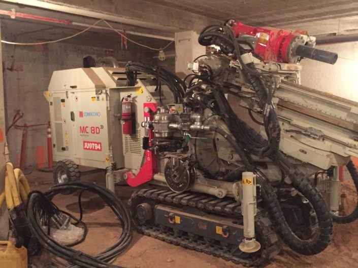 Limited Access Micropiles- Historical Retrofit Micropiles