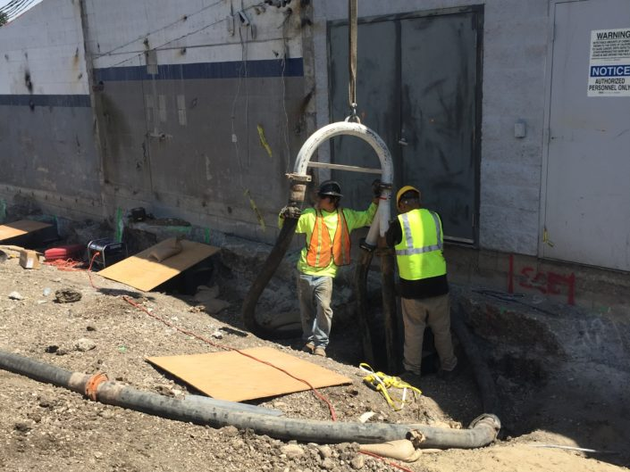 Piles for Underpinning-Shoring Combo Wall