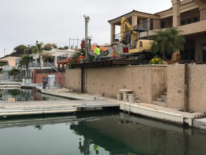 Private Residence Micropiles- Parker, AZ